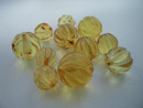 Loose faceted beads - natural amber beads - autherntic amber beads - amber bead shop latvia - lithuania - russia - estonia