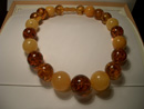Massive amber necklace -  big amber necklace - round amber bead necklaces - massive baltic necklaces - baltic amber necklace shop
