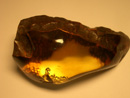 Freeform amber gemstone - free form nugget - baltic gemstone - natural gem - gemsotnes