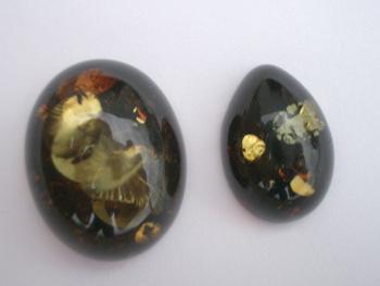Green Amber Jewelry Gallery